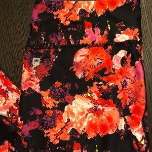 Fabletics Pants - Fabletics Salar Impasto Midrise Floral Leggings